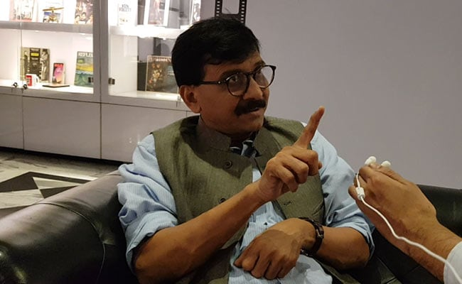 BJP Slams Sena's Sanjay Raut After 'File Case Against Government' Remark