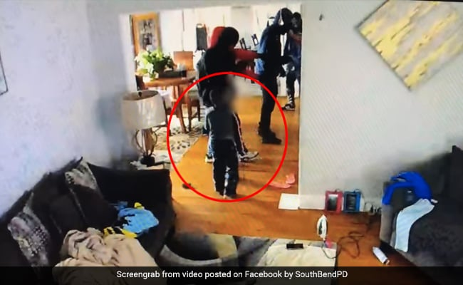 Video: Brave 5-Year-Old Tries To Protect His Mum From Armed Home Invaders