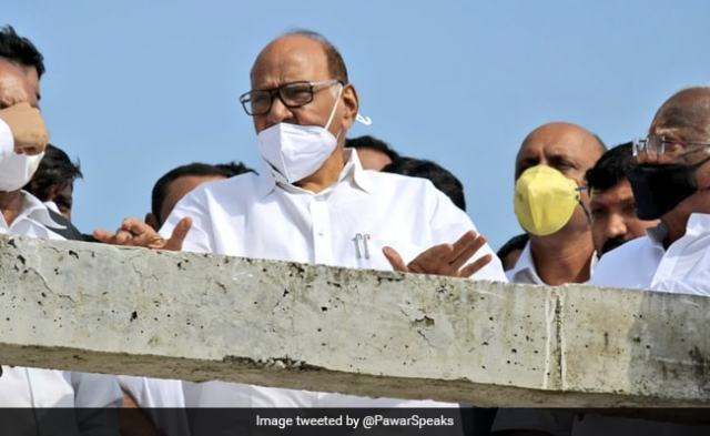Sharad Pawar Reacts To Jayant Patil's Comment On Maharashtra Chief Minister's Post