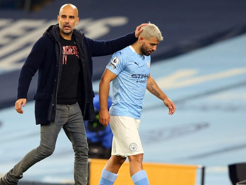 Pep Guardiola saves Sergio Aguero from contacting female assistant referee