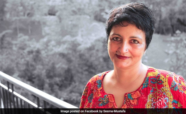Seema Mustafa Elected As President Of Editors Guild Of India