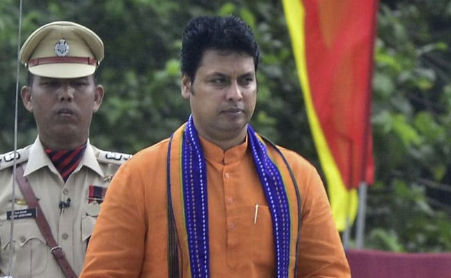 Tripura Journalists Protest Against Alleged Threat By Biplab Deb