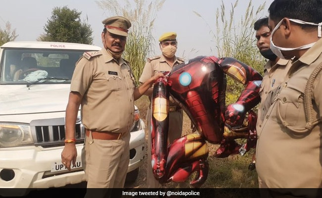 'Thought It Was An Alien': Iron Man Balloon Triggers Panic In UP Town