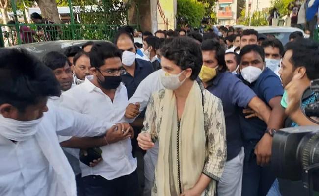 Priyanka Gandhi Vadra Attends Prayer Meet In Delhi Over Hathras Case
