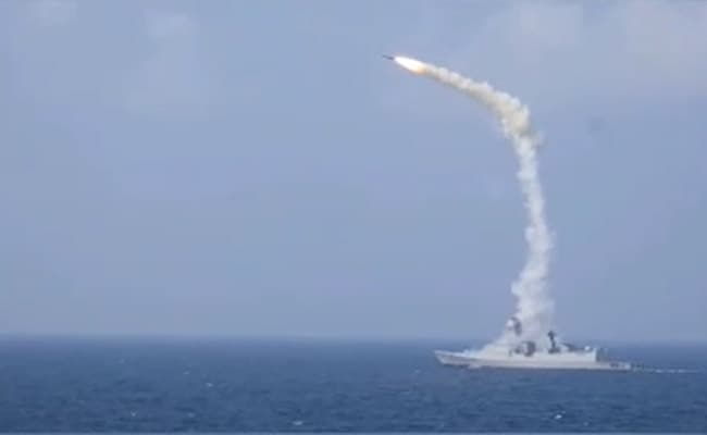 Breaking News: New Video Shows BrahMos Anti-Ship Missile Launched From Navy's Destroyer