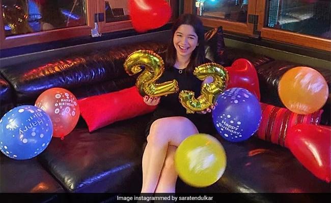 Sara Tendulkar Celebrated Her 23rd Birthday Like This