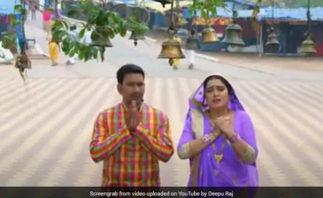Bhojpuri: नवरात्रि के मौके आम्रपाली दुबे के देवी गीत का जबरदस्त धमाल, बार-बार देखा जा रहा Video