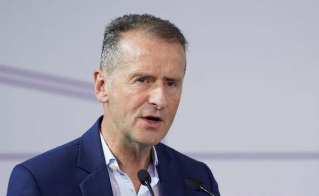 Volkswagen's CEO Herbert Diess expects 30,000 jobs losses if VW transitioned too slowly to EVs