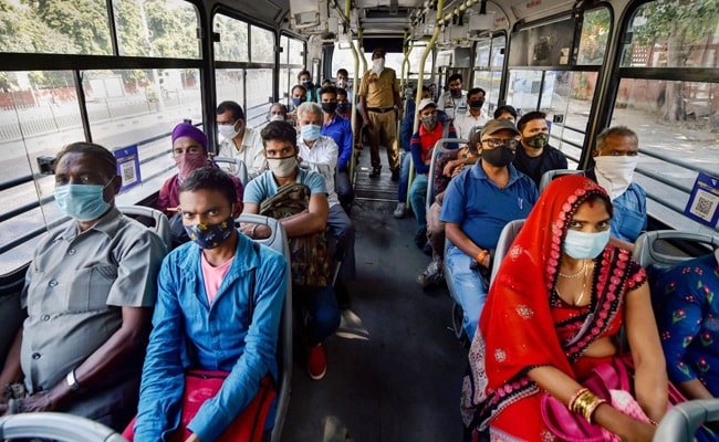 Delhi Government To Penalise Bus Drivers, Conductors Without Face Masks