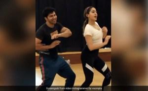 Sara Ali Khan and Varun Dhawan Dance on Hussain Suha's Song Chemistry Winning Heart