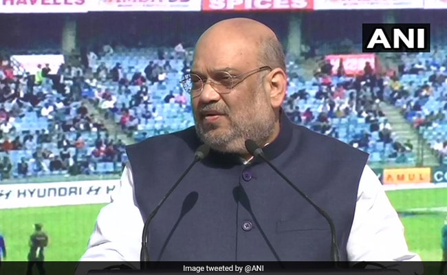 Amit Shah On Arun Jaitley's 'Contribution' To Cricket Amid Row On Statue