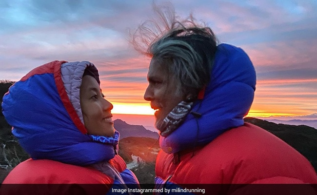 The View Milind Soman Wants To Wake Up To Every Morning. Pics Inside