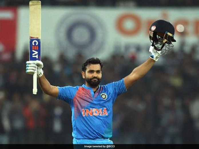 On This Day In 2017 Rohit Sharma Smashed Joint-Fastest T20I Hundred. Watch