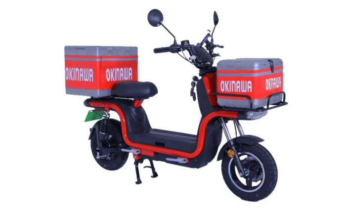 The Okinawa Dual is designed for use in delivery services