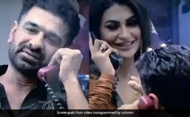 Bigg Boss 14: Eijaz Khan And Pavitra Punia's Loved Up Moment Takes Over The Internet