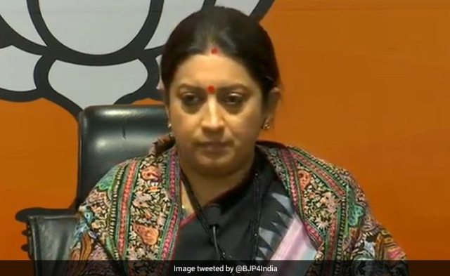 Smriti Irani Buys Land For New Home In UP's Amethi