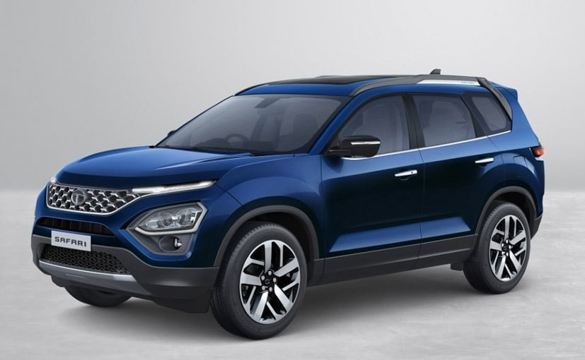 The new 2021 Tata Safari flagship SUV will be based on the OMEGARC platform.