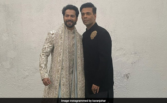 At Varun Dhawan And Natasha Dalal's Wedding, Karan Johar Was Filled With 'A Multitude Of Emotions'