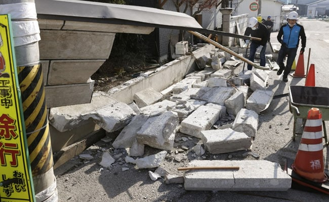 Trains Halted, Scores Injured As Japan Cleans Up After Strong Quake