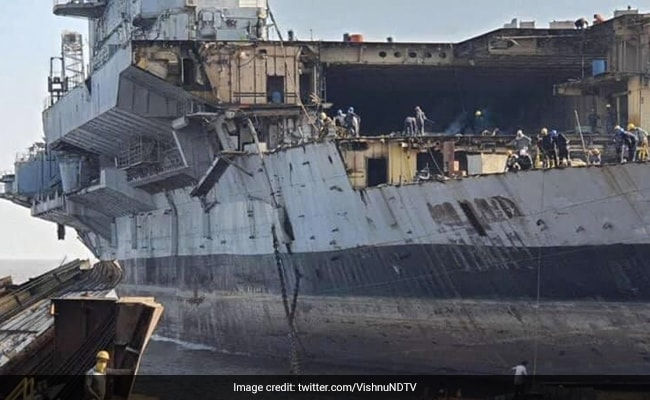Breaking News: INS Viraat Dismantling To Go On, Supreme Court Says Petitioner Came Late