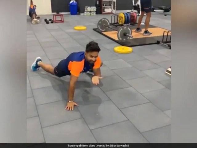 Watch: Rishabh Pant Does
