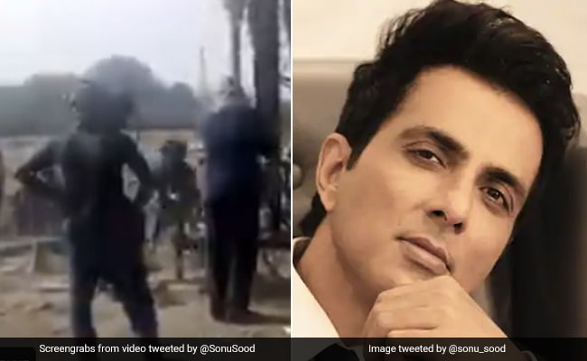 Man pleads to install hand pump, Sonu Sood shared video and said - water scarcity is over from now ...