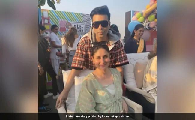 Catching Up With Mom-To-Be Kareena Kapoor And Karan Johar
