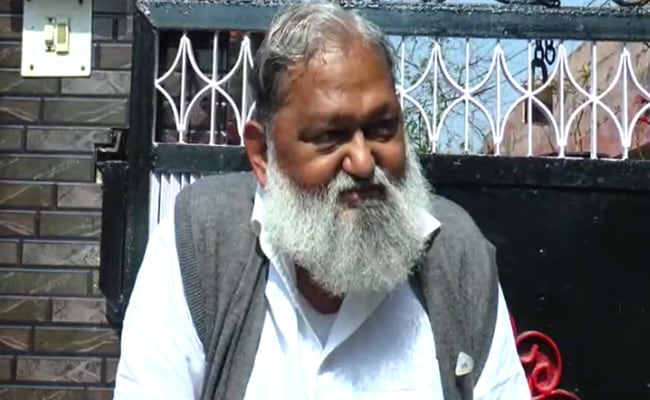 Haryana Under Lockdown From Tomorrow For A Week: Minister Anil Vij