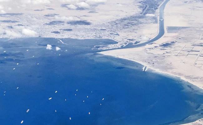 Aladdin's Cave Of Goods Stuck In Suez Canal Logjam
