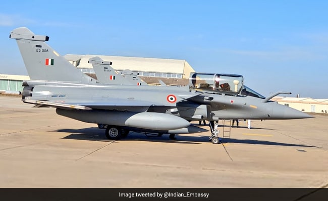Watch: Rafale Jets Take To Skies In France For Non-Stop Flight To India