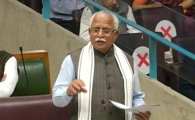 'Who's Anti-Farmer? Punjab Or Haryana': ML Khattar Asks Amarinder Singh