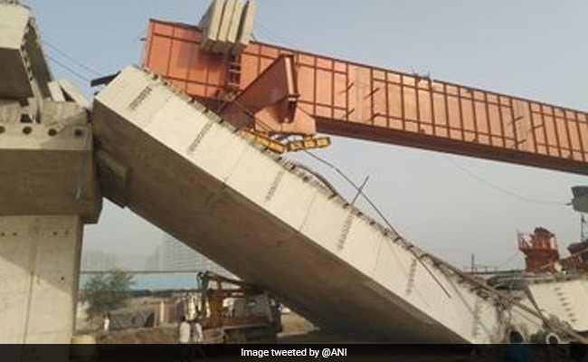 Under-Construction Flyover On Highway Collapses In Gurgaon, 3 Injured
