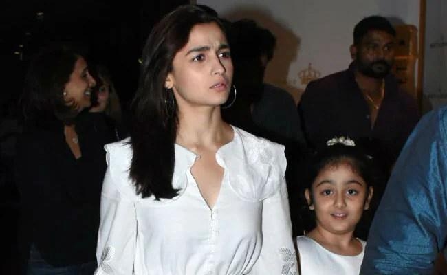 Here's How Alia Bhatt Wished Ranbir Kapoor's Niece Samara On Her Birthday