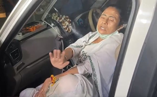 Poll Panel Rules Out Attack On Mamata Banerjee, Says It Was Accident