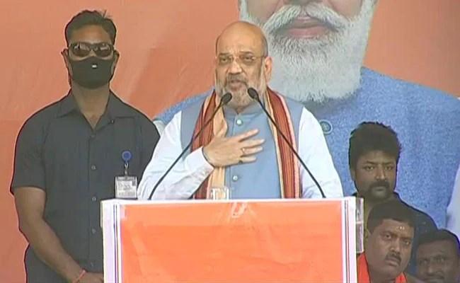 Amit Shah Tells Tamil Nadu To Reject 'Corrupt, Dynastic' DMK, Congress