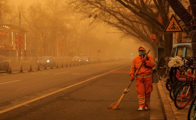 Hazardous Sandstorm Blankets Beijing, Second In Two Weeks