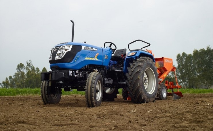 Sonalika Tractors has sold 9130 tractors in April 2021.