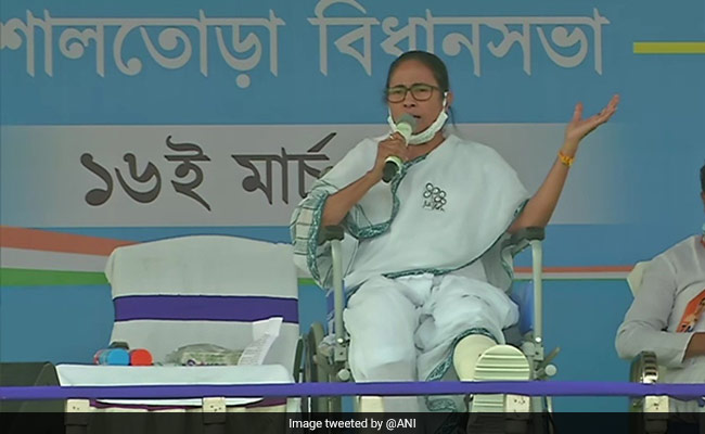 """West Bengal Election: """"Amit Shah Getting Frustrated..."""": Mamata Banerjee's Allegation In Bankura"""