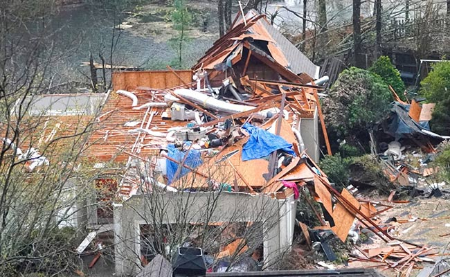5 Killed, Power Outage As Tornadoes Hit US' Alabama