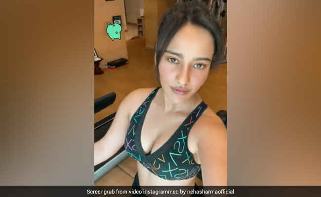Neha Sharma, In A Workout And Repeat Mode These Days, Shares Post From Her Fitness Session