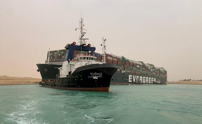 Suez Canal Chief Cites Possible 'Human Error' In Ship Grounding