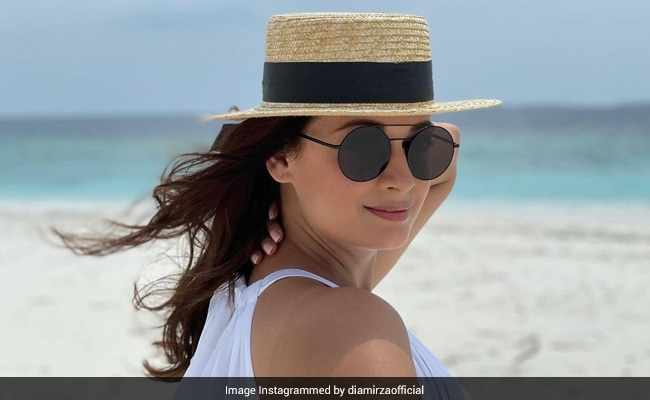 No Points For Guessing Who Clicked This Stunning Pic Of Dia Mirza. She Thinks He Is 'Getting Better'