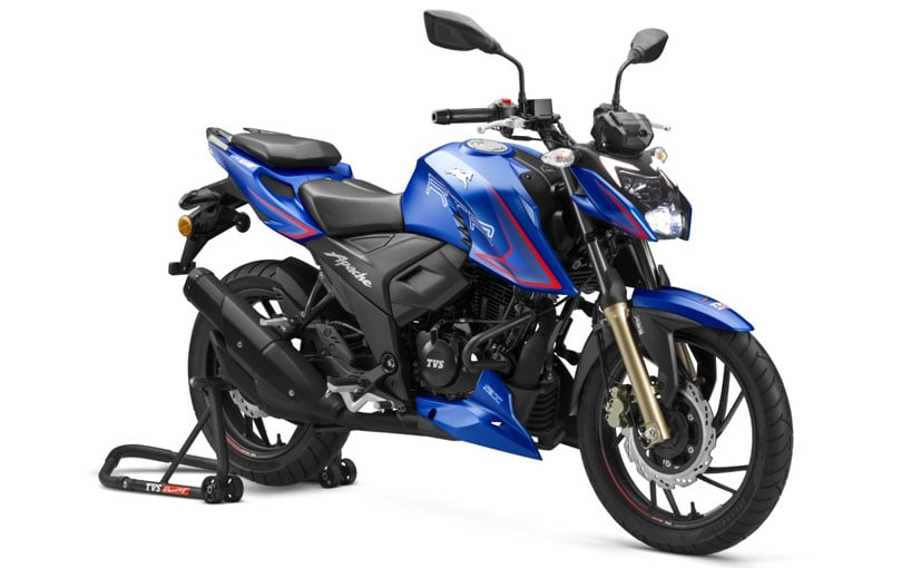 TVS Apache RTR 200 4V offered with cashback of Rs. 5,000