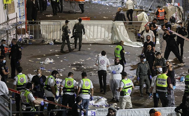 Dozens Killed In Stampede At Israel Pilgrimage Site