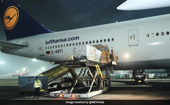 First Shipment Of UK Covid Medical Aid Arrives In India: Government