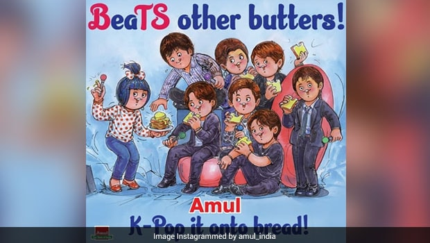 Viral: BTS Army Is Thrilled As Amul Dedicates New Doodle To K-Pop Band | Latest News Live | Find the all top headlines, breaking news for free online April 30, 2021