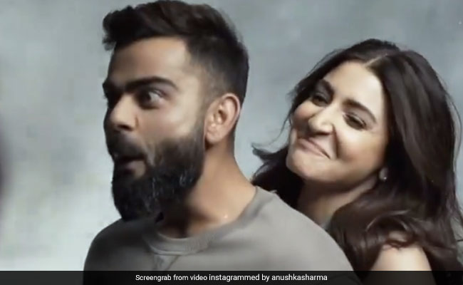 'Oh Teri': Anushka Sharma Swept Virat Kohli Off His Feet - Literally - In This Video