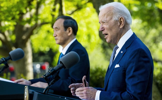 US, Japan Show United Front On China In Biden's First Summit