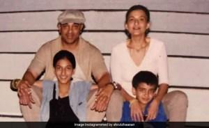 "Shruti ""Favorite"" Throwback Pic With Dad Kamal Haasan, Sarika's Mother And Akshara's Sister"