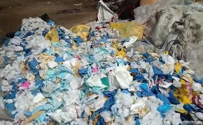 Used Masks Instead Of Cotton In Mattresses - Maharashtra Factory Busted